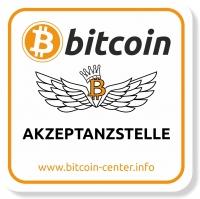 """Bierdeckel """"Bitcoin-Akzeptanzstelle"""""""